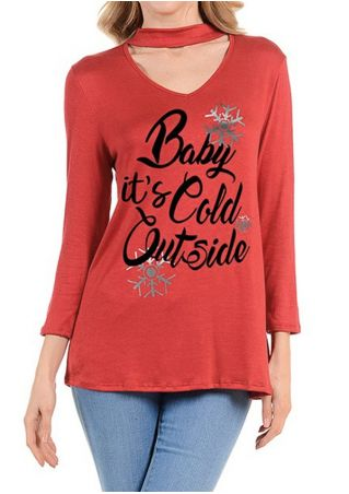 Christmas Baby It's Cold Outside T-Shirt