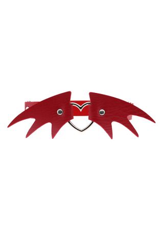 Halloween Wing Shape Heart Lady Leg Ring