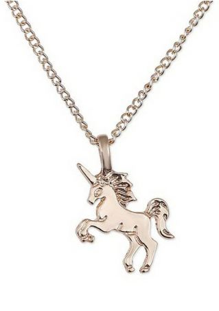Unicorn Horse Pendant Chain Necklace