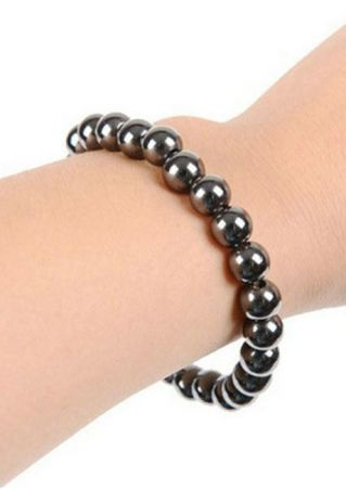 Unisex Blackstone Magnetic Health Care Slimming Bracelet