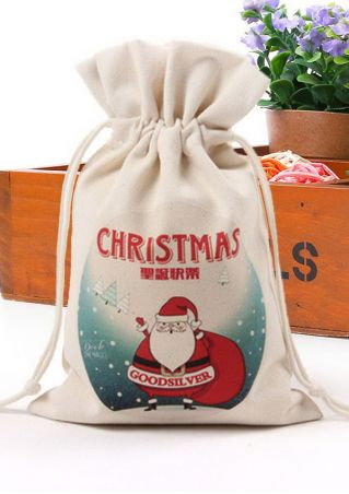 Christmas Multi-Pattern Canvas Candy Ornament
