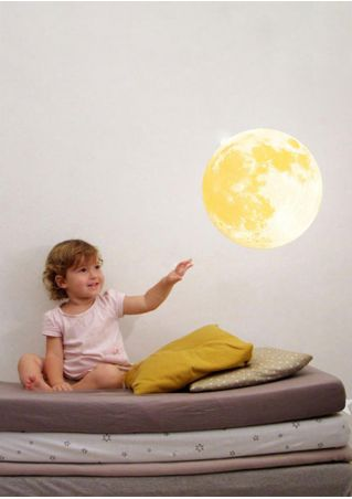 Moon Luminous Removable Wall Sticker