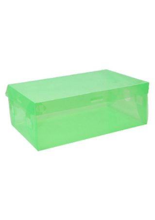 Solid Clear Plastic Thickened Rectangular Shoebox Case