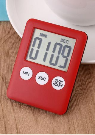 Digital LCD Display Kitchen Time Counter Cooking Alarm Run Timer