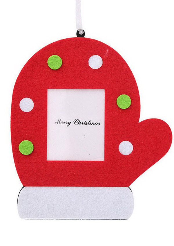 Christmas Photo Frame Hanging Ornament  Bellelily