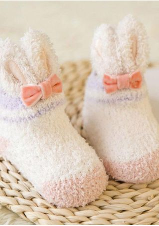Baby Rabbit Ears Cotton Socks