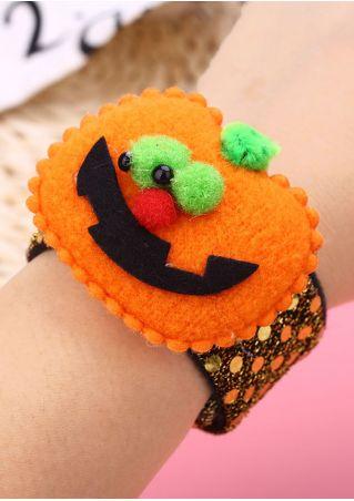 Kids Patting Circle Pat Ring Bracelet Halloween Supply