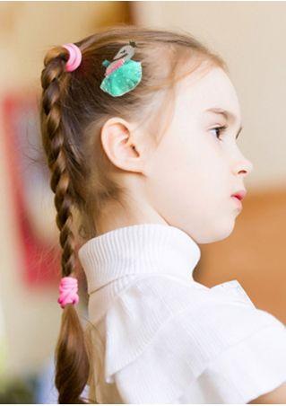 Girls Lace Swan Crown Hair Ornament Hairpin
