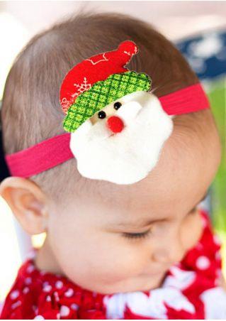 Baby Christmas Santa Claus Snowman Headband