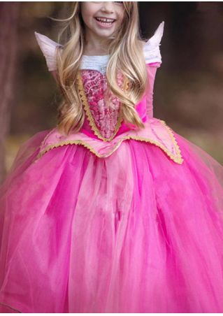 Girls Party Cosplay Princess Dress