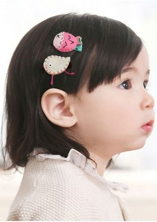 Girls Bowknot Hairpin Hair Clips Toddler Hair Accessories