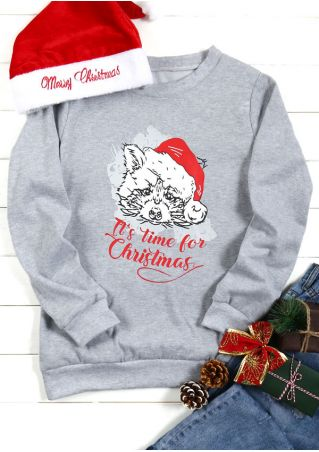 It's Time For Christmas O-Neck Sweatshirt