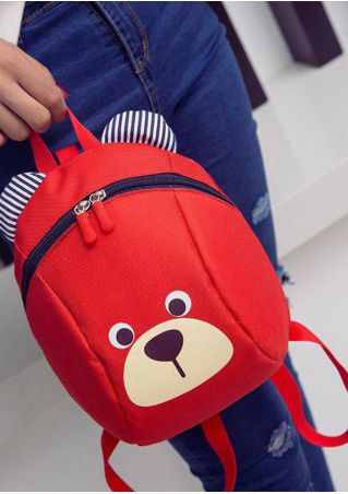 Cute Animal Anti-Lost Backpack Schoolbag