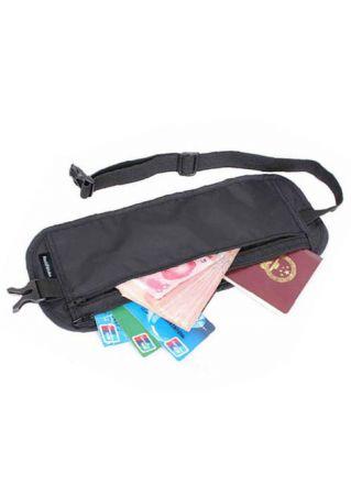 Travel Sport Passport Ticket Card Waist Bag Wallet