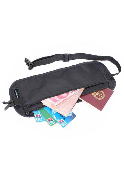 Travel Sport Passport Ticket Card Waist Bag Wallet