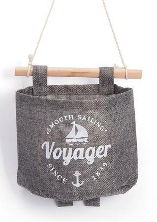 Voyager Wall Storage Hanging Organizer Bag Gray