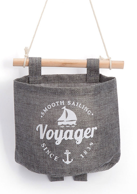 Voyager Wall Storage Hanging Organizer Bag Gray