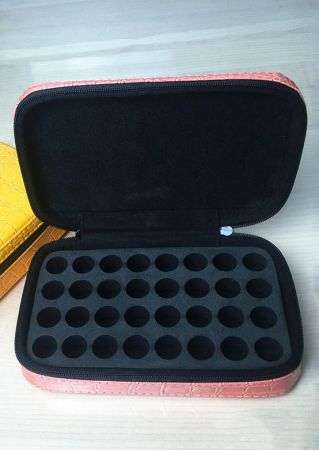 Solid Portable 32 Cells Essential Oil Package Case