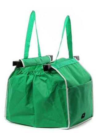 Reusable Ecofriendly Shopping Bag Green