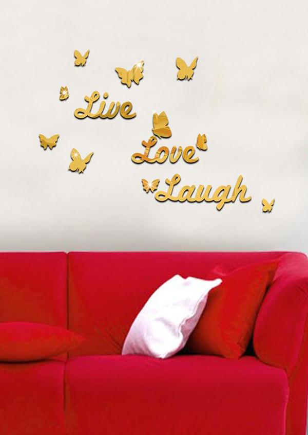 ... Live Love Laugh Wall Sticker. Zoom
