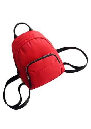 Multifunctional Splicing Zipper Backpack