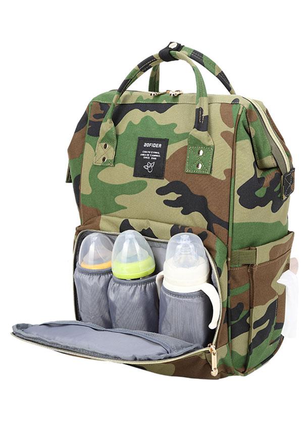 Mummy Baby Feeding Bottle Large Capacity Backpack 40214