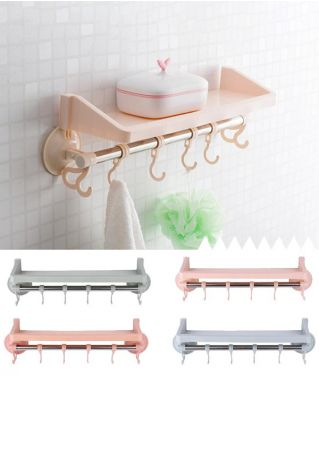 6Pcs/Set Bathroom Sucker Bracket