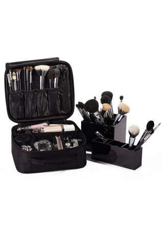 Portable Waterproof Zipper Makeup Bag