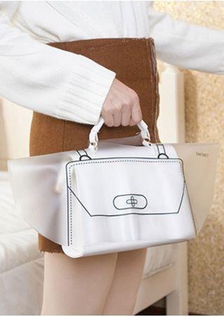 Waterproof Handbag Rain Dust Cover Transparent