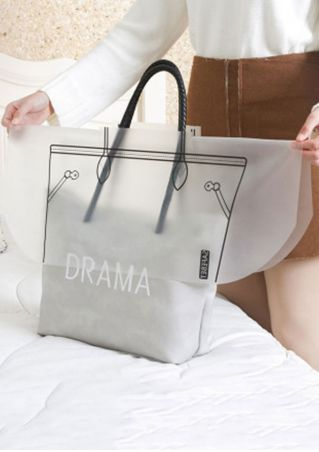 Waterproof Handbag Rain Dust Cover Transparent
