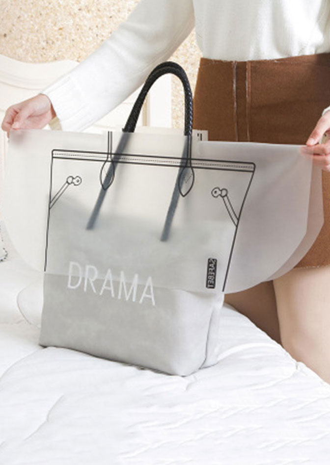Bags Waterproof Handbag Rain Dust Cover Transparent Zoom