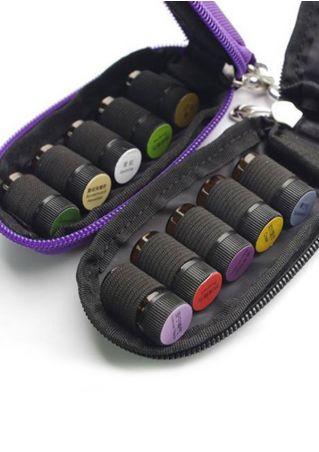 Travel Solid Essential Oil Storage Bag