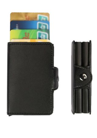 Solid Anti-Degaussing Card Holder Wallet