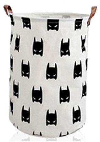 Children Bedroom Toy Batman Canvas Storage Bag