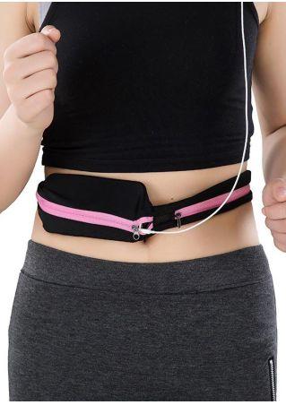 Zipper Sport Waist Bag Fanny Pack