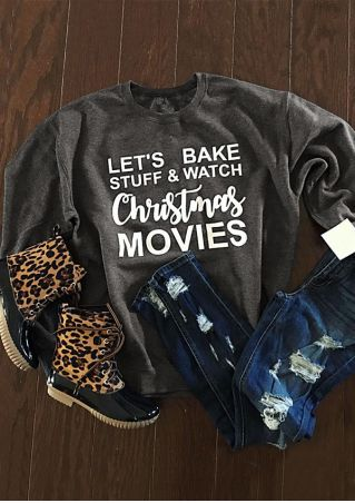 Christmas Movies O-Neck Sweatshirt