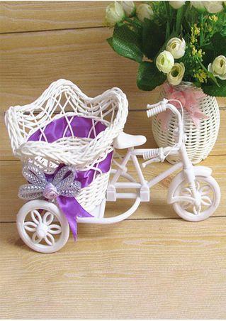 Bike Design Basket Container