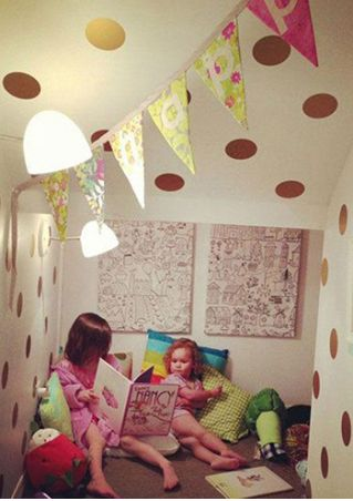 Polka Dot DIY Removable Wall Sticker