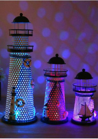 Flashy Beach Lighthouse Shape Tableware