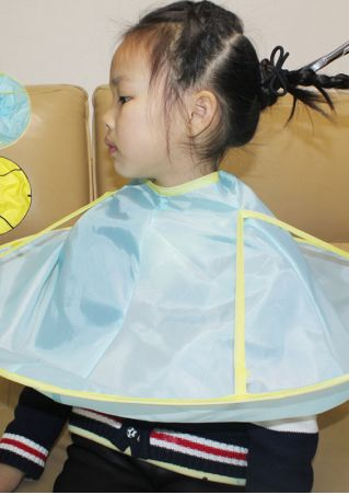 Children Waterproof Hair Cutting Cape Apron