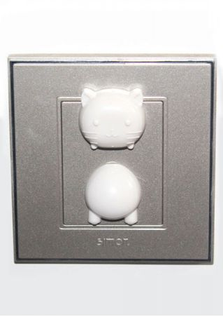 Baby Cute Animal Safety Protector Power Socket Cover