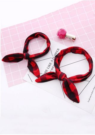 Mother Baby Elastic Rabbit Ear Headbands Headwear