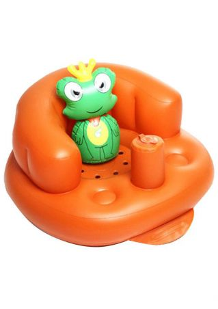 Baby Portable Inflatable Chair Bathing Stool Sofa