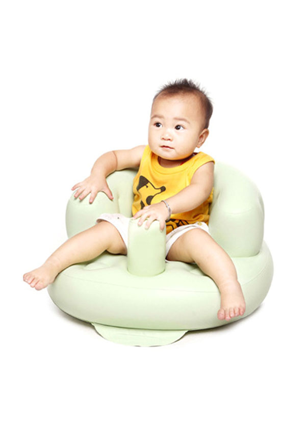 Baby Portable Inflatable Chair Bathing Stool Sofa Bellelily