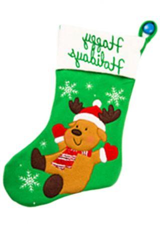 Christmas Kids Reindeer Snowflake Socks