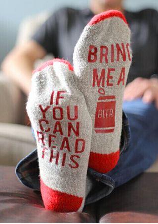 Bring Me A Beer Socks