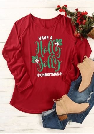Plus Size Have A Holly Jolly Christmas T-Shirt