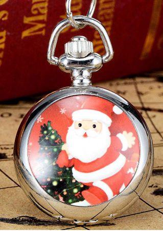 Christmas Santa Pocket Watch