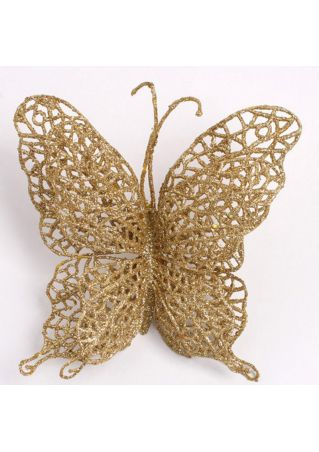 Hollow Butterfly Christmas Hanging Decorations