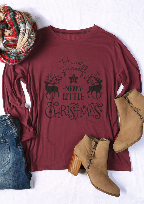 plus size have yourself a merry little christmas t shirt zoom